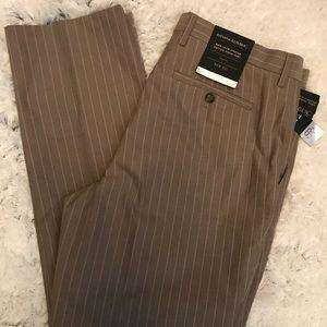NEW-Men's BANANA REPUBLIC Slim Stripe Pants 34x32